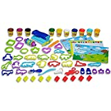 Play Doh - Play Date Party Crate - Inc 40 Accessories & 10 Cans of Compound - Ages 3+