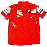 フェラーリ F1チーム 2008 SFクルー支給用 ポロシャツ シーズン前半モデル サイズ:S (PUMA製 ユーズド)