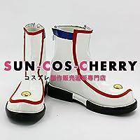 【サイズ選択可】コスプレ靴 ブーツ K-1273 VOCALOID ボーカロイド 初音ミク Miku 男性28CM