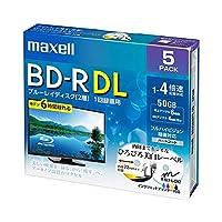 (まとめ)マクセル 録画用BD-R DL 260分1-4倍速 ホワイトワイドプリンタブル 5mmスリムケース BRV50WPE.5S 1パック(5枚) 【×3セット】 AV デジモノ パソコン 周辺機器 その他のパソコン 周辺機器 14067381 [並行輸入品]