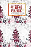 Holiday Planner:   Christmas   Thanksgiving   2019 Calendar   Holiday Guide   Gift Budget   Black Friday   Cyber Monday   Receipt Keeper   Shopping List   Meal Planner   Event Tracker   Christmas Card Address   Women   Wife   Mom   Gift