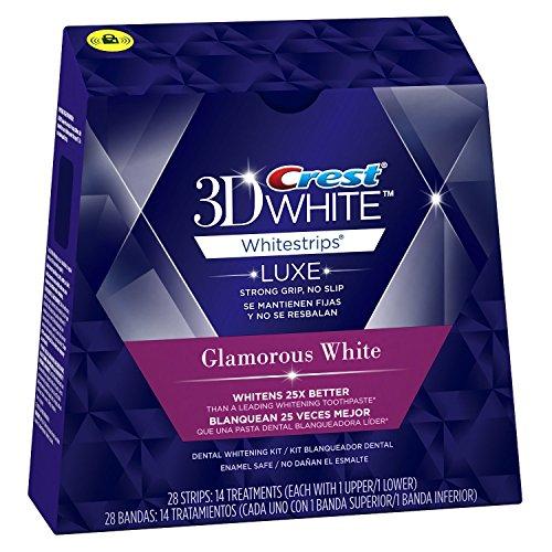 Crest 3D White ホーム ホワイトニング (Glamorous White [14回分]) [並行輸入品]