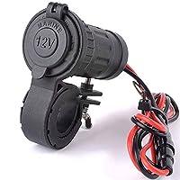Vuage(TM) 240W 12 - 24VオートバイのシガーライターソケットオートバイのハンドルバースクーターのUSB充電器電源ポートコンセントソケット電源