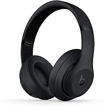 Beats Studio3 Wireless ワイヤレスノイズキャンセリングヘッドホン - マットブラック