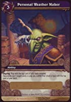 World of Warcraft TCG - Personal Weather Maker (unscratched loot) (SoB-128) - Servants of the Betrayer