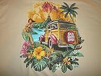 "Old Guys Rule "" Hula Woodie "" Surf Surfboard Longboard FinビーチS / SサイズM"