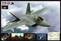 ポスター F-22 ラプター F/A-22 Raptor