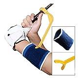 IZAP ゴルフ スイング 練習 矯正 補助機 (サポーター付き) 正しいスイング 姿勢 誘導 スイングガイド