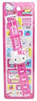 """Hello Kitty Pink Girl""""s Digital Watch with Flip Cover (Japan Import) [並行輸入品]"""