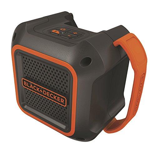 RoomClip商品情報 - ブラックアンドデッカー(BLACK+DECKER) 18V Bluetoothスピーカー(本体のみ) BDCSP18-JP