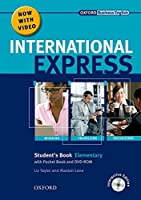 International Express: Elementary: Student's Pack: (Student's Book, Pocket Book & DVD) by Liz Taylor Alastair Lane Keith Harding Adrian Wallwork(2010-06-17)