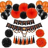 ハロウィン 飾り付けセット デコレーション カボチャガーランド Happy Hallowen 万聖節装飾 (061)