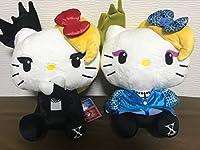 ラウンドワン限定!YOSHIKITTY BIGぬいぐるみ 全2種 約30cm X JAPAN YOSHIKI ハローキティ サンリオ