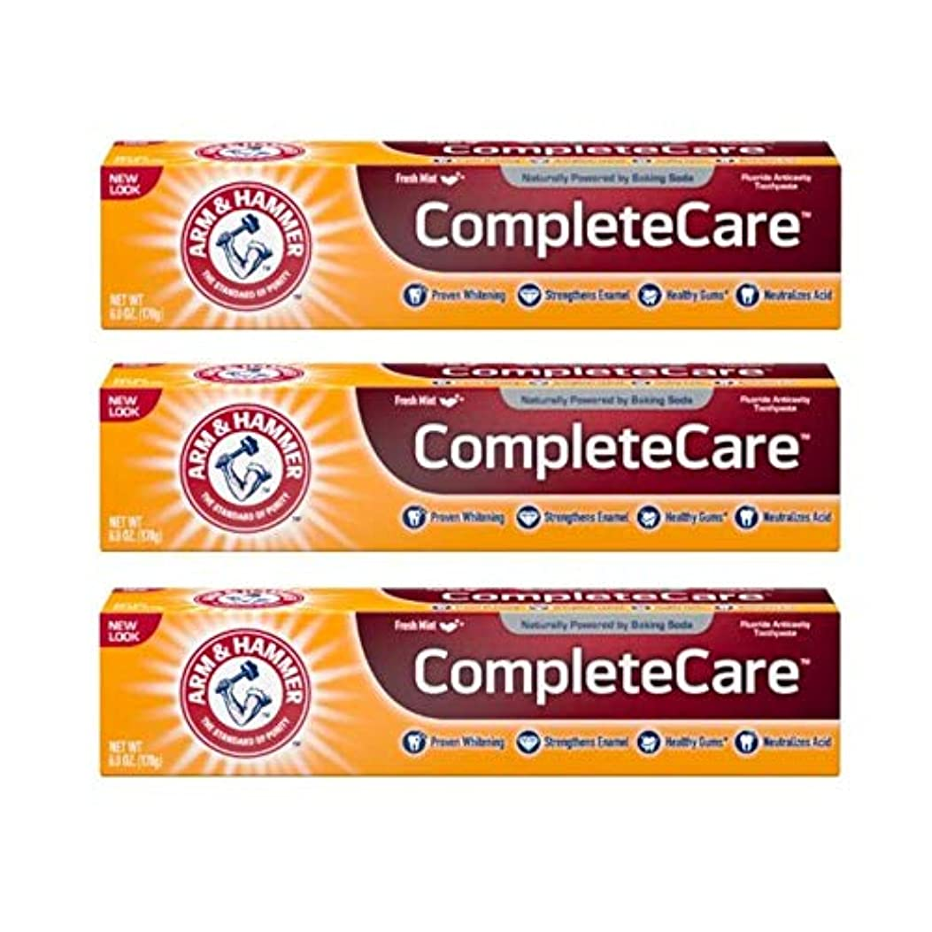 時間厳守シネウィ虹Arm & Hammer Fluoride Anti-Cavity Toothpaste - 6 oz - 3 pk by Arm & Hammer