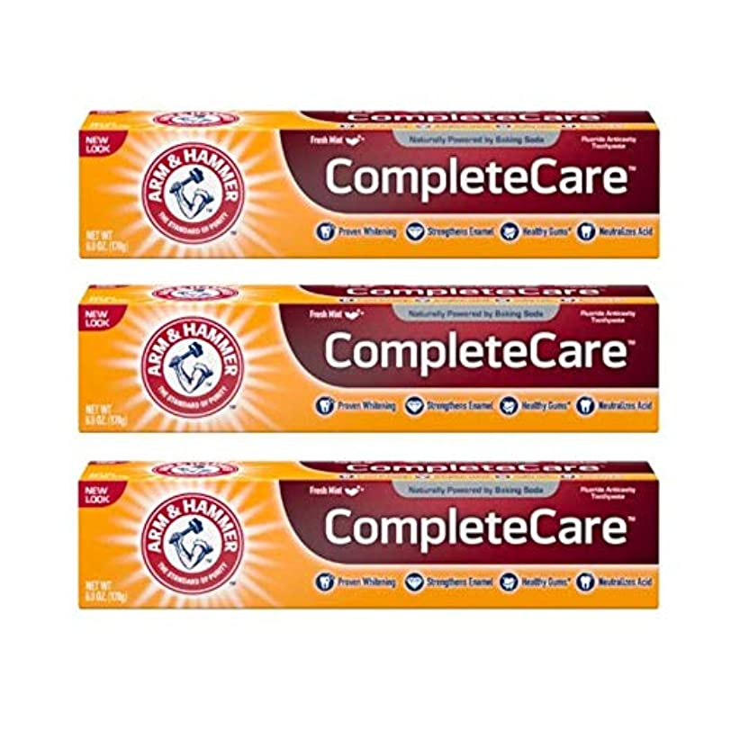 剥離年次嵐のArm & Hammer Fluoride Anti-Cavity Toothpaste - 6 oz - 3 pk by Arm & Hammer