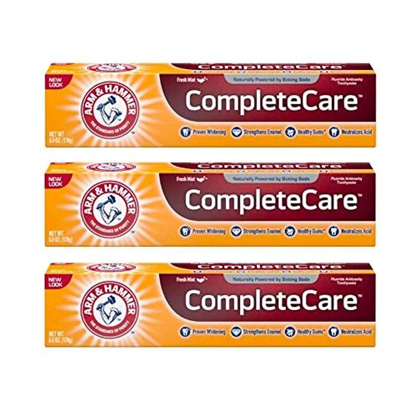 慣性夜明けに義務づけるArm & Hammer Fluoride Anti-Cavity Toothpaste - 6 oz - 3 pk by Arm & Hammer