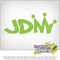 JDMキング JDM King 20cm x 8cm 15色 - ネオン+クロム! ステッカービニールオートバイ