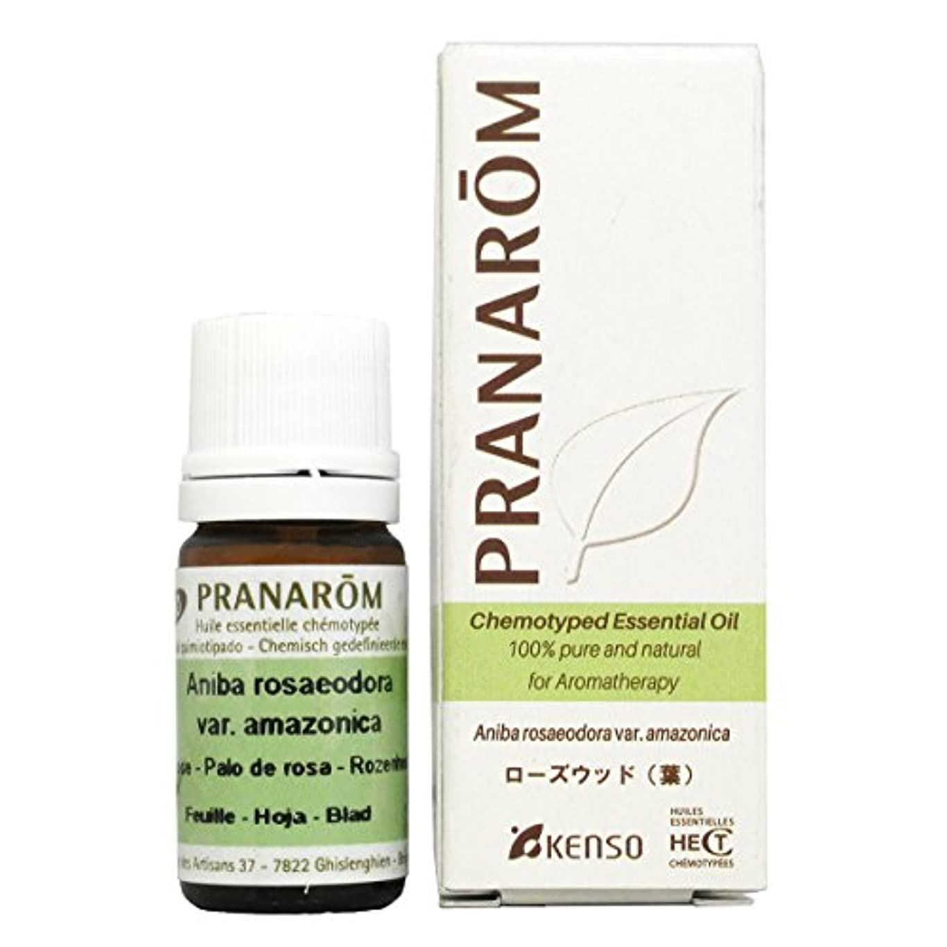 居眠りするシャンプーフックプラナロム ローズウッド (葉) 5ml (PRANAROM ケモタイプ精油)