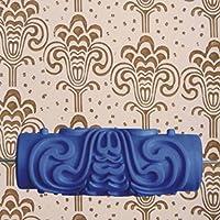 15cmの家の壁のEmpaisticの優雅な花パターン絵画ローラーの飾ること - 2