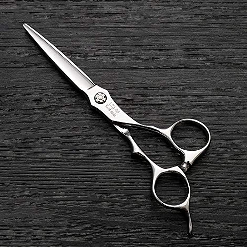 効能ある同情白雪姫6インチハイエンド理髪師理髪用はさみ モデリングツール (色 : Silver)