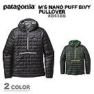 patagonia(パタゴニア) メンズ・ナノ・パフ・ビビー・プルオーバー Ms Nano Puff Bivy P/O -sj 84186 CAN S