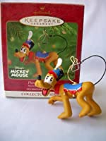 Hallmark Keepsake Ornament Pluto Plays Triangle by Hallmark Ornament [並行輸入品]