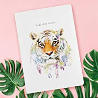 Lola Design、A5ノートブック、ソフトカバー、192罫線ページ、Tiger NB-044