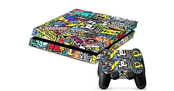 Video Games & Consoles Hoonigan Faceplates, Decals & Stickers Playstation 4 Ps4 Skin Vinyl Design Foil Sticker Protection Sticker