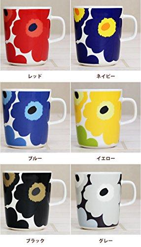 マリメッコ【marimekko】花柄 マグカップ ウニッコ コップ 北欧 デザイン雑貨 陶器 ブランド UNIKKO MUG CUP 63431/250ml