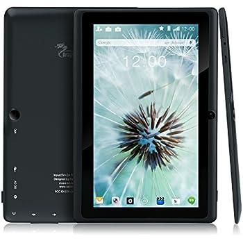 Dragon Touch Y88X Plus 7インチ タブレットPC クアッドコア Google Android 4.4 KitKat IPS液晶 ディスプレイ メモリ8 GB Bluetooth搭載 日本語対応(ブラック)