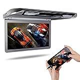 XTRONS 13.3インチ 1920x1080 フルHD フリップダウン モニター 1080Pビデオ再生可 大画面 高画質 超薄 軽 HDMI対応 USB・SD
