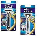 Gillette Sensor3/Blue3 ホルダー替刃 - 日本国内のセンサーエクセルの替刃は使用可 2個 (原産国:EU) [並行輸入品]