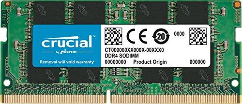 crucial 8GB DDR4 2400 MT s (PC4-19200) CL17 SR x8 U-SODIMM CT8G4SFS824A 1個
