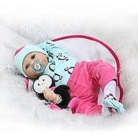 NPKDOLLシミュレーションRebornベビー人形ソフトSilicone 22インチ55 cmビニールLifelike Vivid Toy Boy Girl rd55 C180