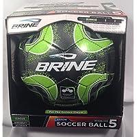 Franklin Brine矢印サッカーボールサイズ5グリーン/ブラックLeagueパフォーマンスレベル