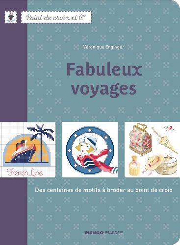 DMC 「Feuleux voyages」 クロスステッチ図案集-フランス語