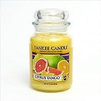 kameyama candle(カメヤマキャンドル) 【OUTLET アウトレット】【パッケージダメージ】YANKEE CANDLE ジャーL 「 シトラスタンゴ 」 キャンドル 105x105x182mm (K00605221)