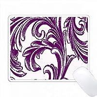 紫と白の大きな繁栄 PC Mouse Pad パソコン マウスパッド