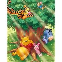 ジグソーパズル プチ2 ディズニー 500スモールピース 木もれ日の下で??? (16.5cm×21.5cm、対応パネル:プチ2専用)