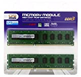 CFD販売 デスクトップPC用メモリ PC-10600(DDR3-1333) 4GB×2枚 240pin DIMM (無期限保証)(Panramシリーズ) W3U1333PS-4G
