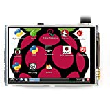 LANDZO 3.5 Inch Touch Screen for Raspberry Pi 3 Model B(Plus) and Pi 2 Pi Zero W
