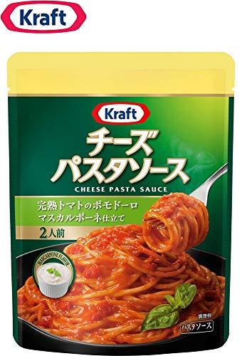 クラフト (Kraft) チーズパスタソース 完熟トマトのポモドーロ マスカルポーネ仕立て ×3袋