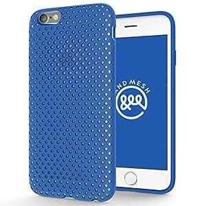 AndMesh iPhone 6s ケース メッシュケース ブルー AMMSC621-BLU