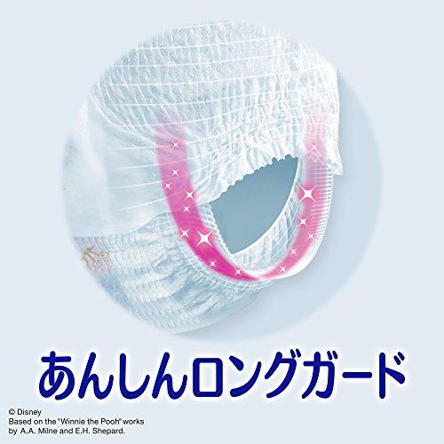 『【パンツ ビッグサイズ】ナチュラルムーニーマン オーガニックコットン オムツ (12~22kg)34枚』の4枚目の画像