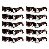 安全直視用日食メガネ 10枚セット