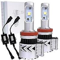 【第8世代CREE LED搭載】LEDキット HB4 6000lm(左右計)/3000lm(片側) ヘッドライト フォグランプ XHP50チップ 12V/24V