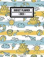 Budget Planner 2020: Beach Expense Tracker / Budget Planner 2020| 8.5x11 | 52 Weeks Undated