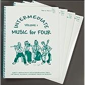 バイオリン(1,2),ビオラ,チェロ やさしい弦楽四重奏(カルテット) クラシック曲集 バロック~ロマン派まで有名曲満載♪