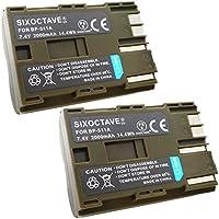 str 2個セット Canon キヤノン BP-511 / BP-512 / BP-511A / BP-514 互換バッテリー イオス EOS 5D / EOS 50D / EOS 10D / EOS 20D / EOS 20Da / EOS D30 / EOS 30D / EOS 40D / EOS-D60 純正品と同じよう使用可能 純正充電器で充電可能 残量表示可能