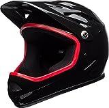 BELL(ベル) ヘルメット 自転車 サイクリング フルフェイス BMX SANCTION [サンクション グロスブラック/ハイビスカスリパレーション M] 7088801 7088801 M